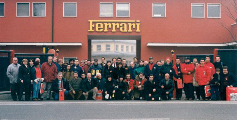 1997 - Visita alla Ferrari