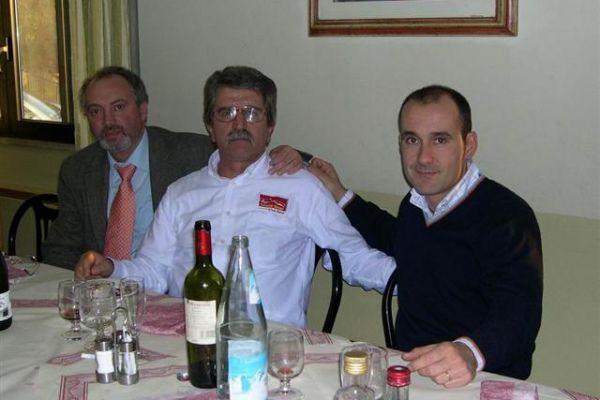 Il Presidente fra il sindaco di Rufina e Max Mugelli