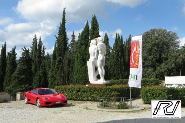 Arrivo presso Villa Poggio Reale di Rufina