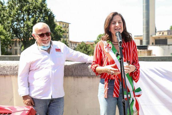 Intitolato a Firenze un ponte a Enzo Ferrari